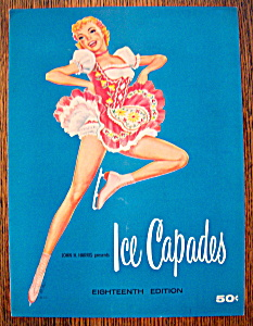 Ice Capades Program 1957 Madame Butterfly & Fantasia