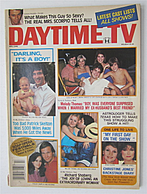 Daytime Tv Magazine 1981 Melody Thomas