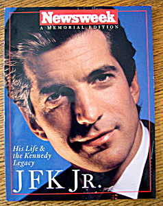 Newsweek Magazine Summer/fall 1999 Jfk Jr