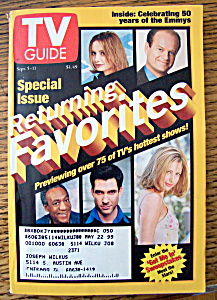 Tv Guide September 5-11, 1998 Returning Favorites