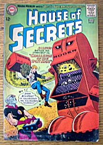 House Of Secrets Comics July-August 1964 (Image1)