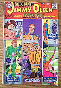 Jimmy Olsen Comics August-September 1967 (Image1)