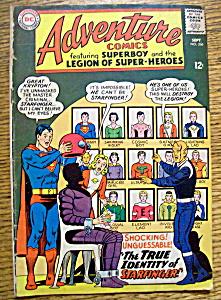 Adventure Comics September 1965 Superboy (Image1)