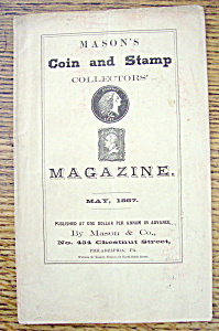 Mason's Coin & Stamp Magazine - May 1867 (Image1)