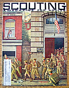 Scouting Magazine February 1968 Rockwell Cover (Image1)