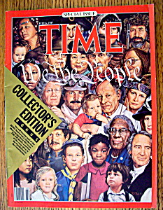 Time Magazine July 6, 1987 We The People