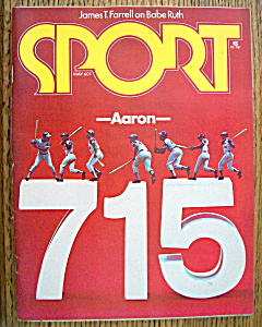 Sport Magazine May 1974 Hank Aaron: 715 (Image1)