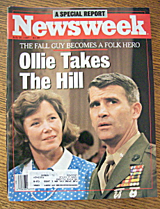 Newsweek Magazine July 20, 1987 Ollie Takes The Hill