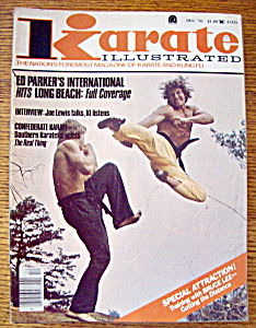 Karate Illustrated Magazine December 1976 (Image1)