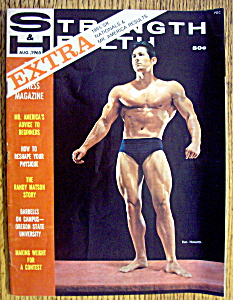 Strength & Health Magazine-august 1965-don Howorth