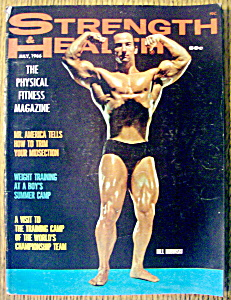 Strength & Health Magazine-july 1966-bill Bubinski