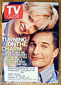 Tv Guide March 13-19, 1999 Jenna Elfman
