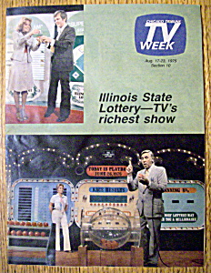 Tv Week August 17-23, 1975 Illinois State Lottery