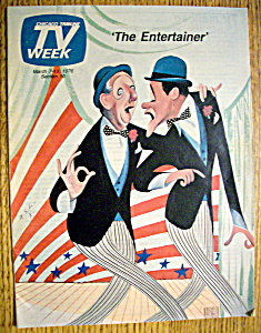 Tv Week March 7-13, 1976 The Entertainer