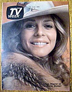 TV Week  February 15-21, 1976  Lindsay Wagner (Image1)