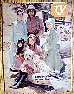 Tv Week April 27-may 3, 1975 Little House On Prairie