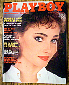 Playboy Magazine-november 1983-veronica Gamba