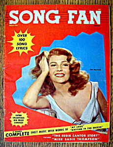Song Fan Magazine  March 1954  Rita Hayworth (Image1)