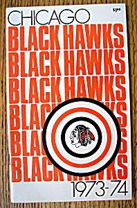 Chicago Blackhawks Yearbook 1973/1974