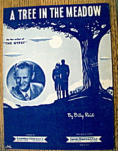 Sheet Music For 1947 A Tree In The Meadow
