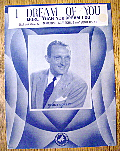 Sheet Music For 1944 I Dream Of You