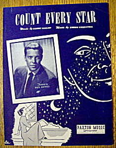 Sheet Music For 1950 Count Every Star (Image1)