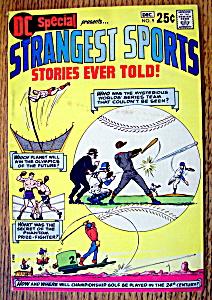 Strangest Sports Comic December 1970 (Image1)