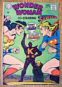 Wonder Woman Comics # 177 July - August 1968 Supergirl
