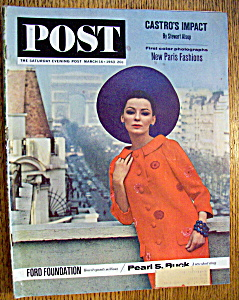 Saturday Evening Post Magazine - March 16, 1963 (Image1)