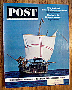 Saturday Evening Post Magazine - January 26, 1963 (Image1)