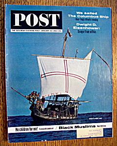 Saturday Evening Post Magazine - January 26, 1963 (Image1)