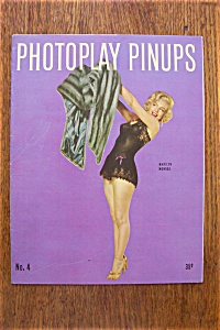Vintage Pin Up - 1953 Photoplay - Marilyn Monroe Cover