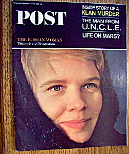 Saturday Evening Post Magazine - June 19, 1965