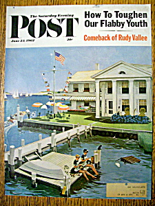 Saturday Evening Post Cover - June 23, 1962 - Hughes