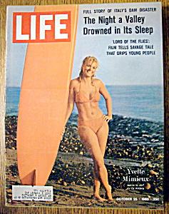 Life Magazine-October 25, 1963-Yvette Mimieux (Image1)