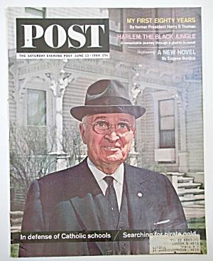 Saturday Evening Post Magazine - June 13, 1964 (Image1)
