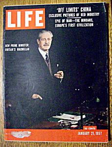 Life Magazine January 21, 1957 Britian's MacMillan (Image1)