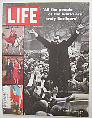 Life Magazine March 7, 1969 Richard Nixon