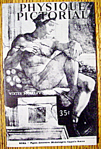 Physique Pictorial Winter 1954-55 - Gay Interest