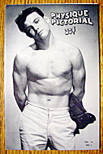 Physique Pictorial-july 1964-jim Paris (Gay Interest)