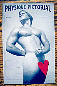 Physique Pictorial August 1977 Ron Milhorn-gay Interest