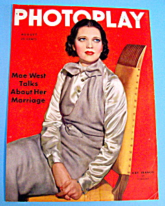 Photoplay Magazine Cover August 1935 Kay Francis (Image1)