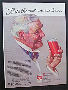 Norman Rockwell 1934 Campbell's Tomato Juice Ad