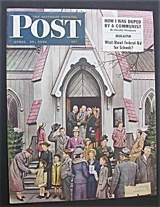 Saturday Evening Post Cover -Dohanos- April 16, 1949 (Image1)