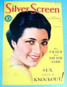 Silver Screen Magazine Cover March 1931 Kay Francis (Image1)