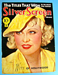 Silver Screen Magazine Cover February 1934 Mae West