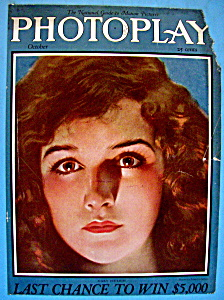Photoplay Magazine Cover October 1924 Mary Philbin