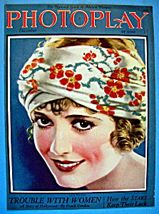 Photoplay Magazine Cover December 1924 Lois Wilson