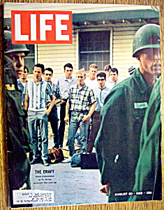 Life Magazine-august 20, 1965-the Draft