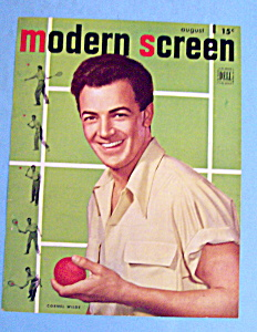 Modern Screen Magazine Cover August 1947 Cornel Wilde (Image1)